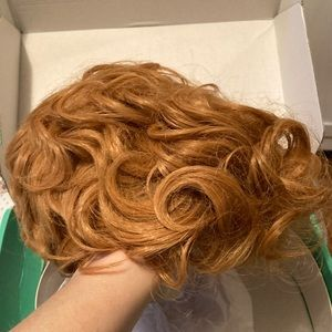 """Curly 8"""" wig from WigsDo.com, never worn, NEW"""